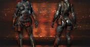 Warface - Female nanosuits set