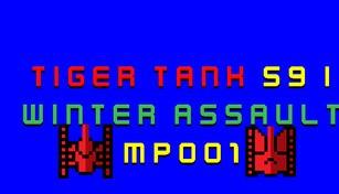 Tiger Tank 59 Ⅰ Winter Assault MP001