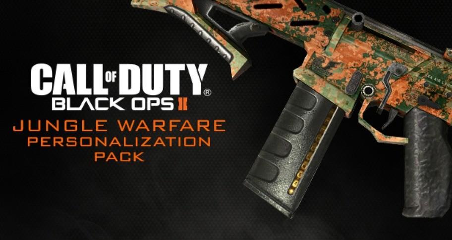 Call of Duty: Black Ops II - Jungle Warfare Personalization Pack