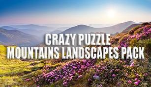 Crazy Puzzle -Mountain Landscapes