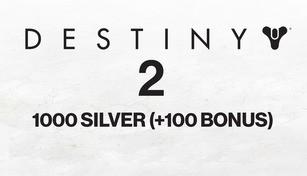 Destiny 2 - 1000 Silver (+100 Bonus)