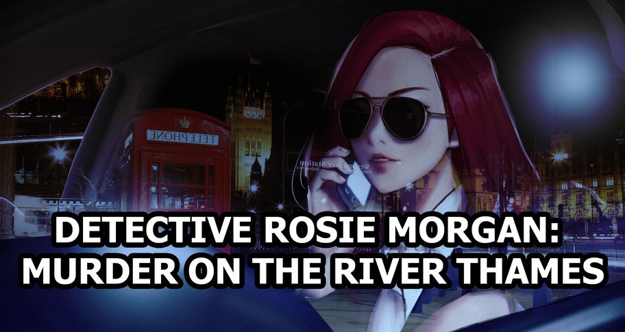 Detective Rosie Morgan: Murder on the River Thames - Artbook