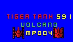 Tiger Tank 59 Ⅰ Volcano MP004