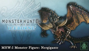 Monster Hunter World: Iceborne - MHW:I Monster Figure: Nergigante