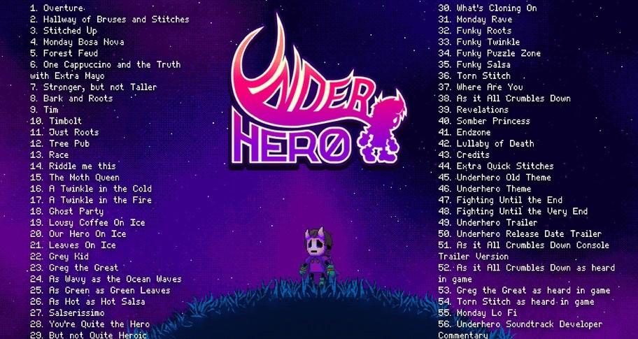 Underhero Soundtrack