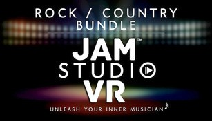Jam Studio VR EHC - Beamz Original Rock/Country Bundle