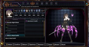 Death end re;Quest 2 - Shina's Maid Outfit