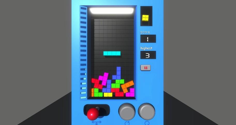 PhyTetris-Physics Tetris
