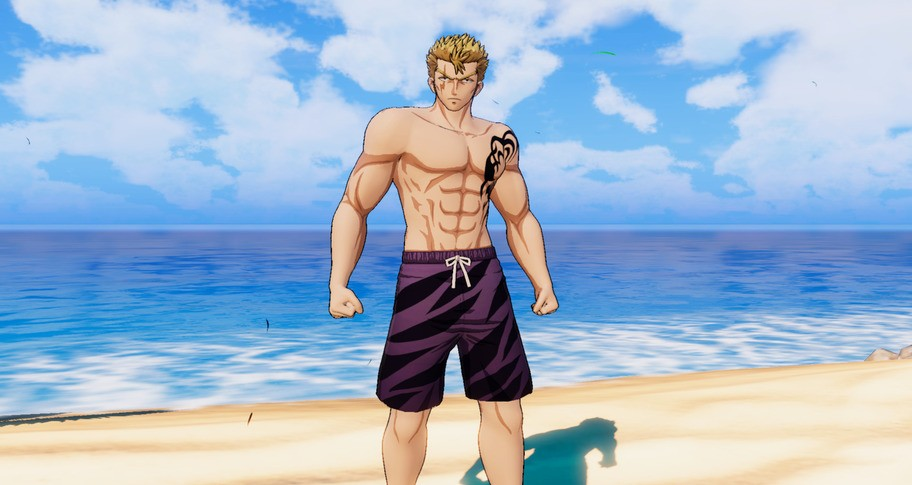 """FAIRY TAIL: Laxus's Costume """"Special Swimsuit"""""""