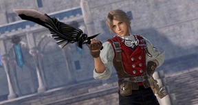 DFF NT: Sky Pirate Garb Appearance Set & 5th Weapon for Vaan