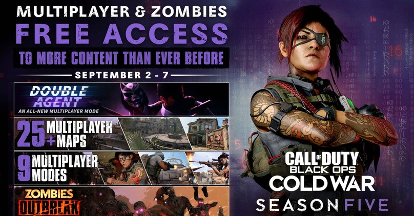 Call of Duty: Black Ops Cold War Free Access - Multiplayer & Zombies