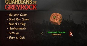 Guardians of Greyrock - Dice Pack: Woodcraft Set