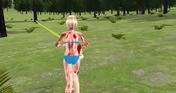 Girl Kill Zombies