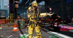 FIGHTING EX LAYER - Color Gold/Silver: Doctrine