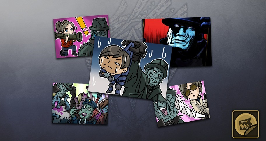 Monster Hunter: World - Sticker Set: Raccoon City Set