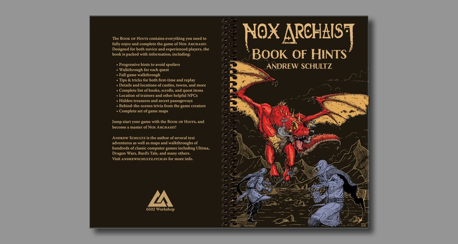 Nox Archaist Book of Hints