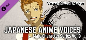 Visual Novel Maker - Japanese Anime Voices: Male Character Series Vol.9