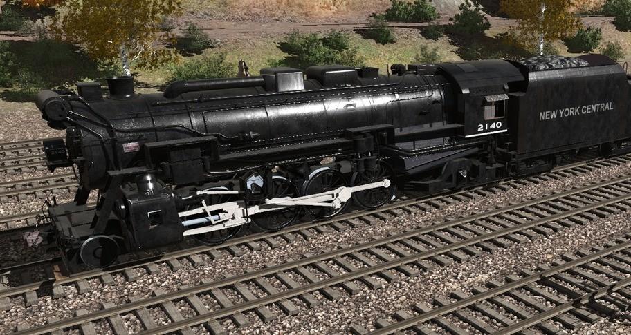 Trainz 2019 DLC - New York Central 10a 2-8-2
