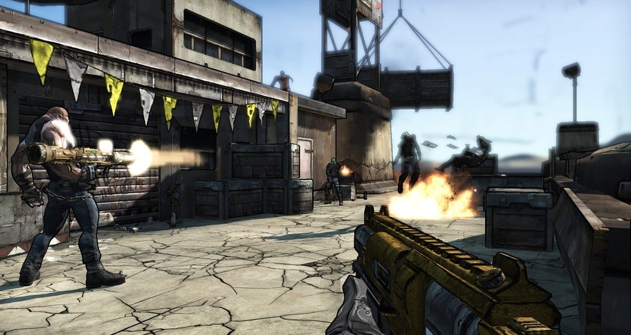 Borderlands and 3 DLCs