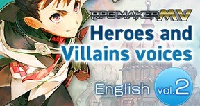 RPG Maker MV - Heroes and Villains voices 【English】vol.2