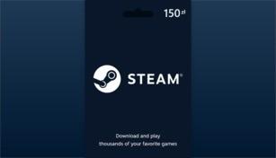 Steam Wallet Gift Card 150 PLN