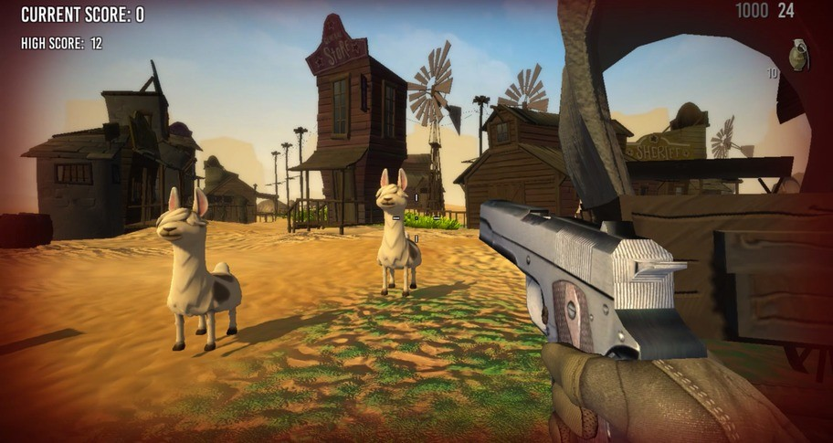 Lama Drama FPS - Texas Chainsaw Lamassacre