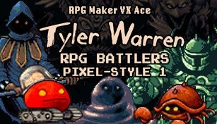 RPG Maker VX Ace - Tyler Warren RPG Battlers Pixel-Style 1