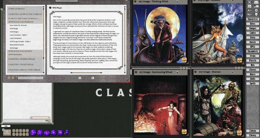 Fantasy Grounds - D&D Classics: Tome of Magic (2E)