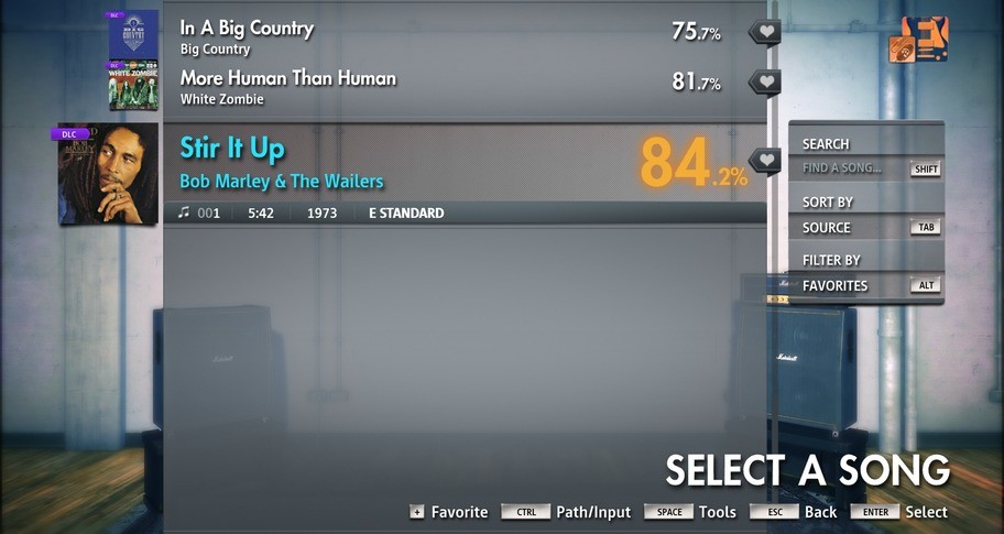 "Rocksmith 2014 Edition - Remastered - Bob Marley & The Wailers - ""Stir It Up"""