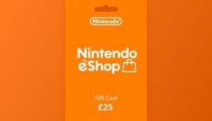 Nintendo eShop Gift Card 25 GBP