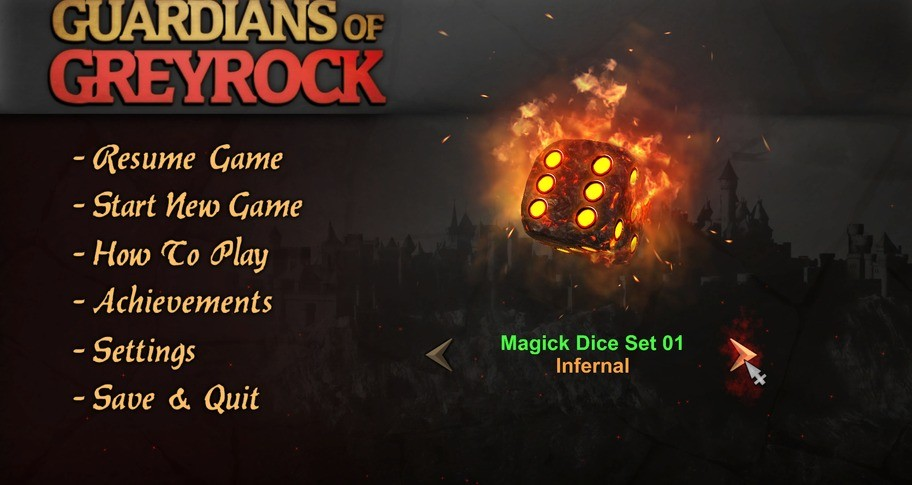 Guardians of Greyrock - Dice Pack: Magick Set 01