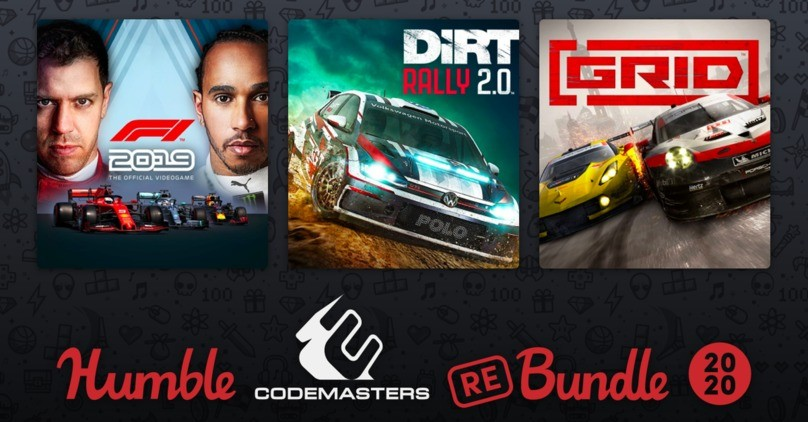 Humble Codemasters Racing Rebundle