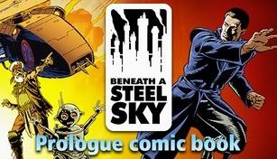Beneath a Steel Sky Prologue Comic