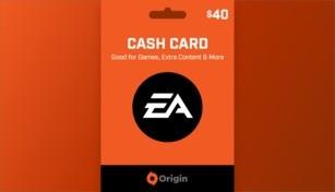 EA Origin Cash Card 40 USD