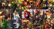 Samurai Warriors Mashup Set