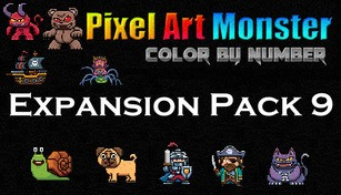 Pixel Art Monster - Expansion Pack 9