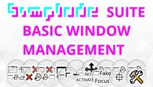 Simplode Suite - Basic Window Management