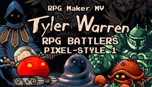 RPG Maker MV - Tyler Warren RPG Battlers Pixel-Style 1