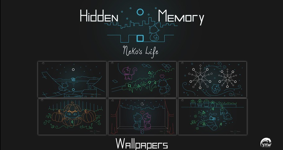 Hidden Memory - Neko's Life - Wallpapers