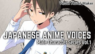 Visual Novel Maker - Japanese Anime Voices:Male Character Series Vol.1