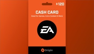 EA Origin Cash Card 120 USD