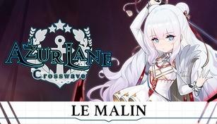Azur Lane Crosswave - Le Malin