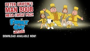 Family Guy: Back to the Multiverse - Peter Griffin's Man Boob Mega Sweat Pack