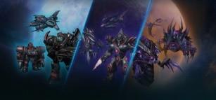 Starcraft II - BlizzCon 2017 War Chest Skin Protoss Bundle