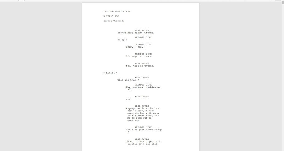 Welcome To... Chichester 2 - No Extra Regrets For The Future Script