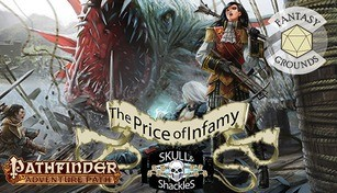 Fantasy Grounds - Pathfinder RPG - Skull & Shackles AP 5: The Price of Infamy