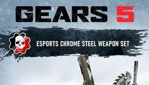 Gears 5 - Chrome Steel Weapon Set