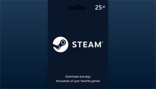 Steam Wallet Gift Card 25 PLN