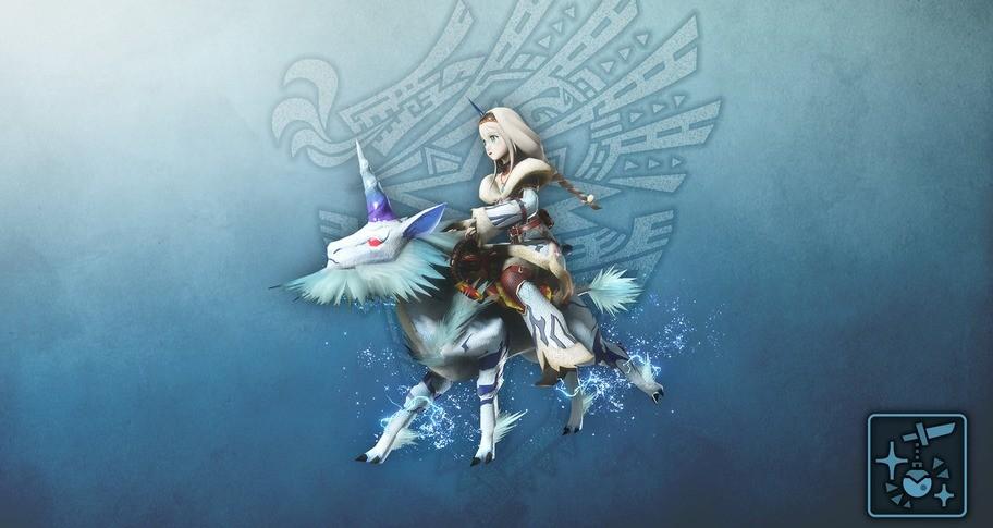 Monster Hunter World: Iceborne - Pendant: MH Riders - Kirin