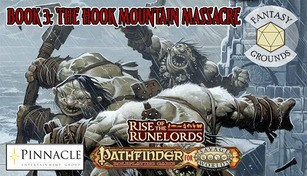 Fantasy Grounds - Pathfinder(R) for Savage Worlds: Rise of the Runelords! Book 3 - The Hook Mountain Massacre